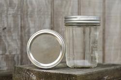 Rustic Mason Jars with Moonshine