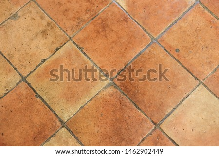 Vector background - tiled wall with a large hole Clip Art   k12850167    Fotosearch