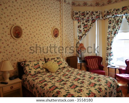 Rustic or old fashioned bedroom design stock photo 3558180 for Old fashioned bedroom ideas