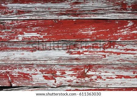 Rustic Red Barn Siding