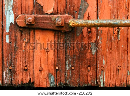 Rustic Siding Handle