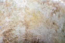 Rustic, textured concrete material, a grungy isolated background made of stone, located in South Louisiana.