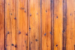 Rustic timber orange wooden wall,Texture background