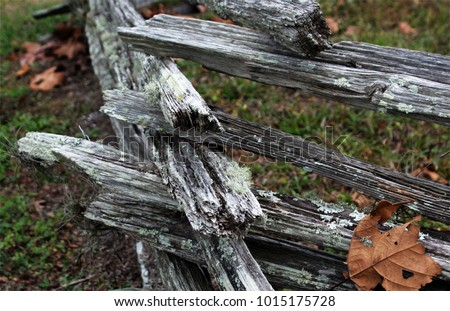 rustic vintage fence found in...