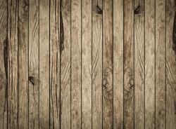 rustic wood plank veneer floorboards backdrop with vignette.
