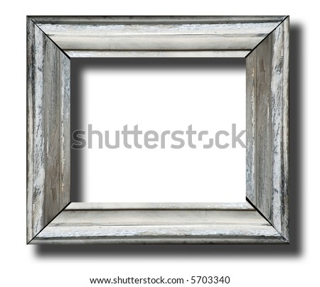 Rustic Wooden Frames Rustic Wooden Frame Isolated