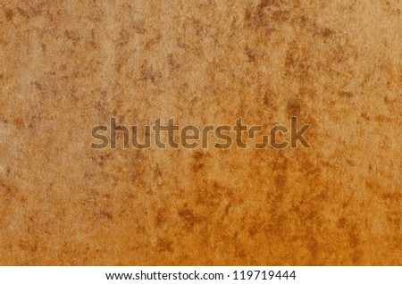 Rusty brown paper texture background with marble effect.