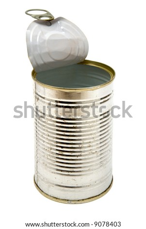 Rusty Can. - stock photo