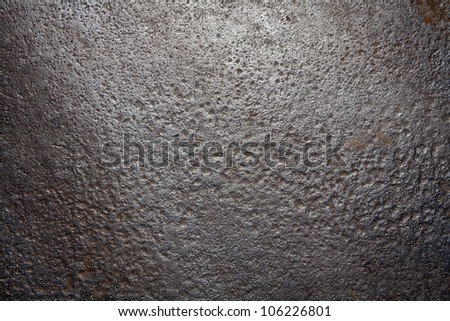 Rusty Corrugated Iron - stock photo