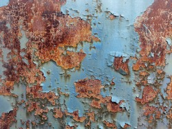 Rusty dirty metal as background