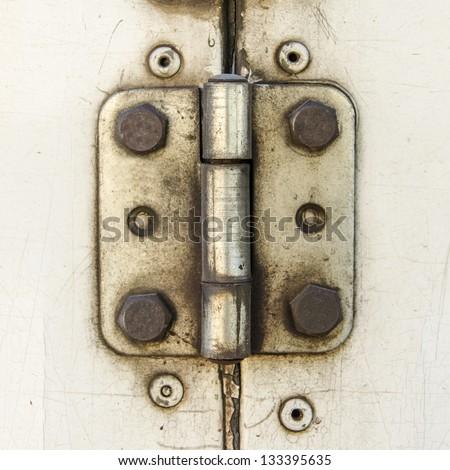 Rusty Door hinge #133395635