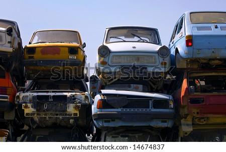 rusty european cars