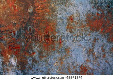Rusty grunge  metallic texture
