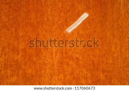 Rusty iron - stock photo