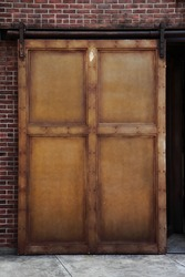 Rusty Iron Door