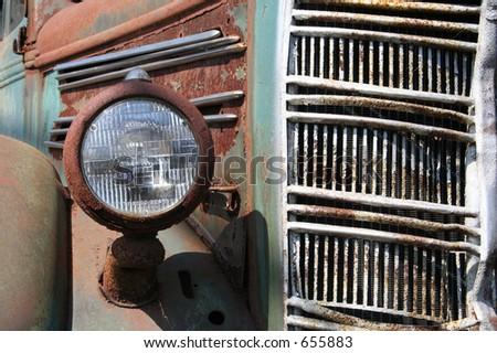 Rusty Mack Dump Truck