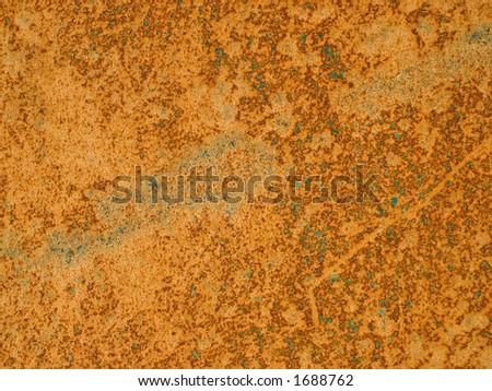 Rusty metal - stock photo