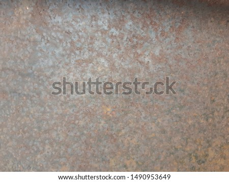 rusty metal background, metal background texture, metal steel vintage plate with some old scratch, blue rusty metal