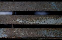 rusty metal bars texture background