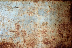 rusty metal panel texture background