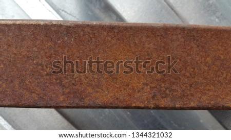 Rusty metal. Rust. Rusty Metal Background. Rusty metal surface #1344321032