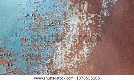 Rusty metal. Rust. Rusty Metal Background. Rusty metal surface #1378655105