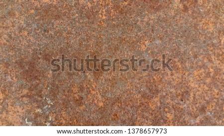Rusty metal. Rust. Rusty Metal Background. Rusty metal surface #1378657973