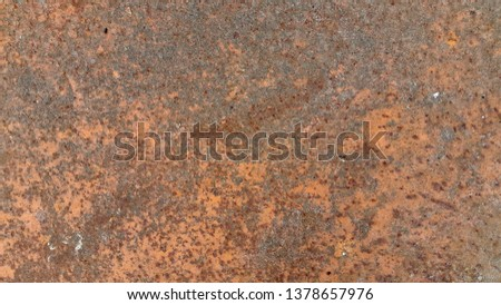 Rusty metal. Rust. Rusty Metal Background. Rusty metal surface #1378657976