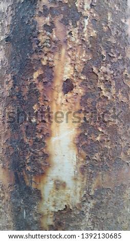 Rusty metal. Rust. Rusty Metal Background. Rusty metal surface #1392130685