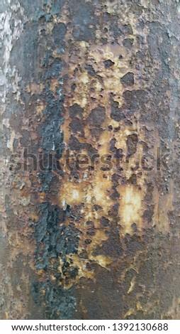 Rusty metal. Rust. Rusty Metal Background. Rusty metal surface #1392130688
