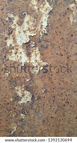 Rusty metal. Rust. Rusty Metal Background. Rusty metal surface #1392130694