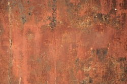 Rusty metal / Rusty and battered metal background