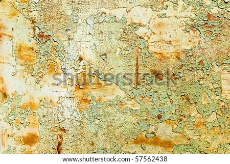 rusty metal surface