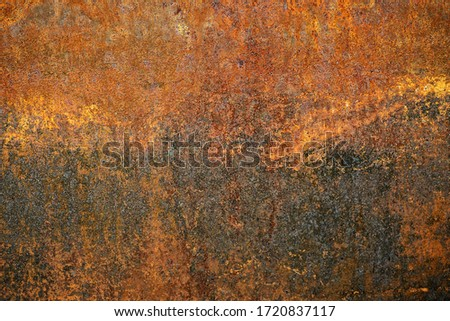 Rusty metal texture background. Grunge rusted metal texture. industrial construction concept design. Oxidized background. stock photo
