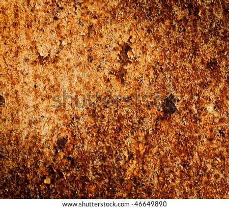 Rusty metal texture can be used as background