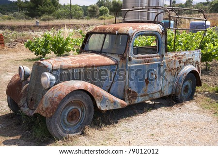 Rusty Old Abandoned Truck
