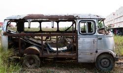 Rusty Old Abandoned Van