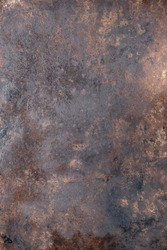 rusty old beautiful metal background. vertical orientation