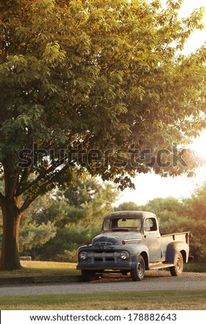 Rusty Old Ford Pickup