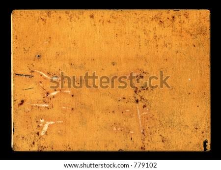 Rusty old metal box