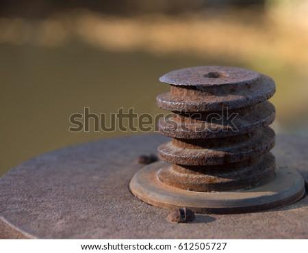 Rusty Spiral Object #612505727