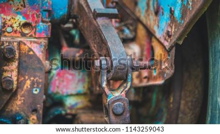 Rusty Steel Joints