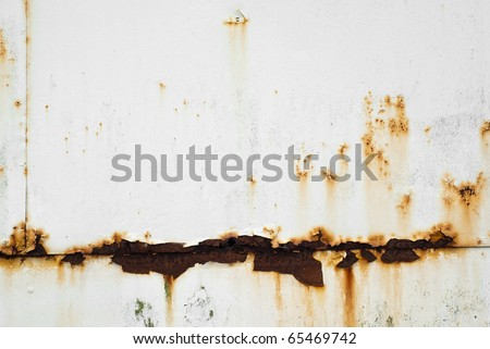Rusty White Metal Texture