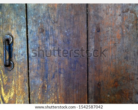 Rusty Wooden grunge planks, old aged background