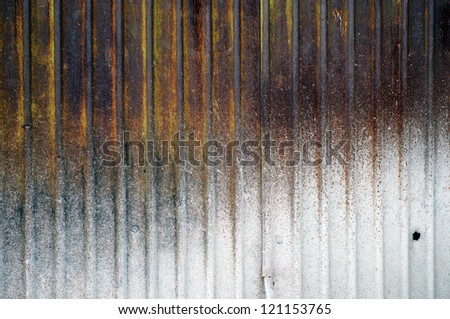 Rusty Zinc grunge background