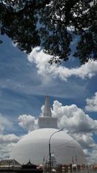 Ruwanweli Maha Seya in Anuradhapura, Sri Lanka