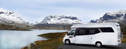 RV in Norway and a great view