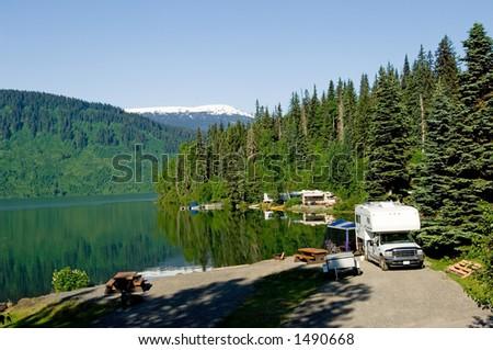 RV park in Alaska