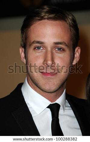 Ryan Gosling at the  2nd Annual Academy Governors Awards, Kodak Theater, Hollywood, CA.  11-14-10