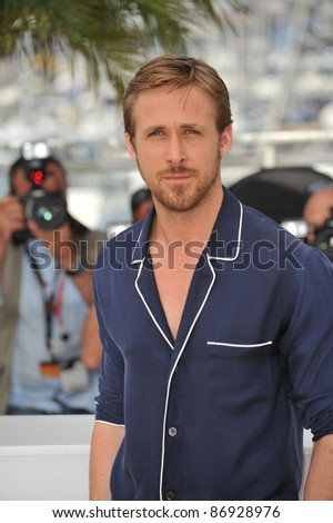 """Ryan Gosling at the photocall for his new movie """"Drive"""" in competition at the 64th Festival de Cannes. May 20, 2011  Cannes, France Picture: Paul Smith / Featureflash"""